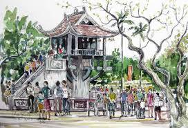 Truyện Sự tích chùa Một cột - Truyện cổ tích Việt Nam đặc sắc