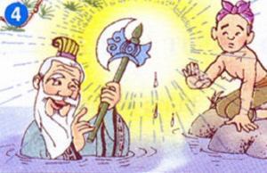 Ba lưỡi rìu - Truyện Cổ Tích Việt Nam Đặc Sắc