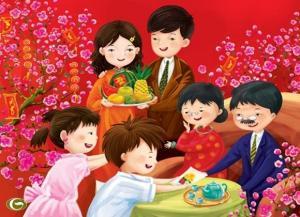 Sự tích ngày Tết - Truyện cổ tích Việt Nam hay nhất