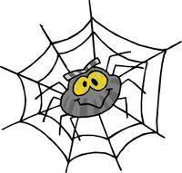 nhện và gián