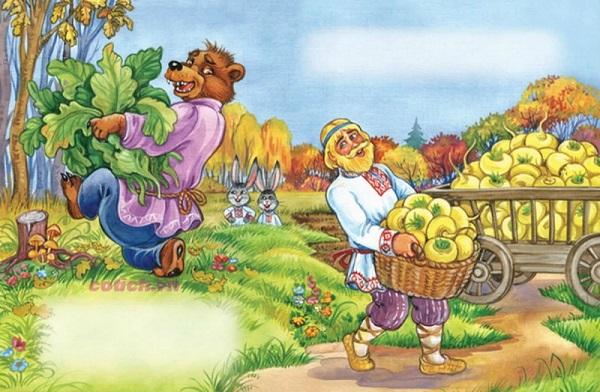 Truyện Bác nông dân và con Gấu - Truyện cổ tích Indonesia chọn lọc