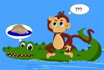 Truyện Khỉ và cá sấu - Truyện ngụ ngôn - Kho tàng truyện cổ tích ngụ ngôn việt nam chọn lọc
