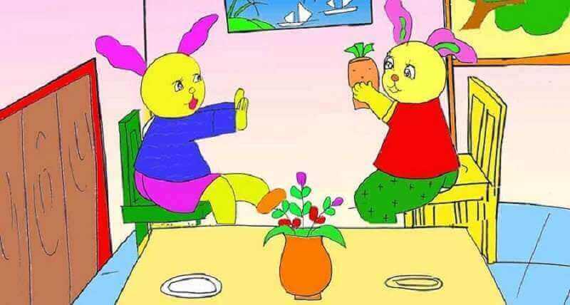 Truyện anh em nhà thỏ - Truyện hay cho bé về sự yêu thương nhau