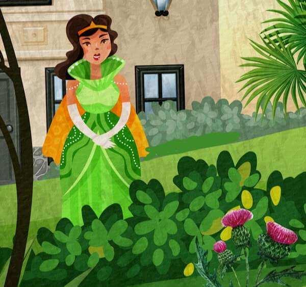 Chuyện cây hoa gai - Truyện cổ Andersen ý nghĩa nhất