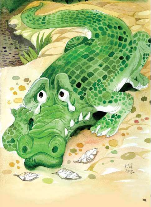 Truyện Nước mắt cá sấu