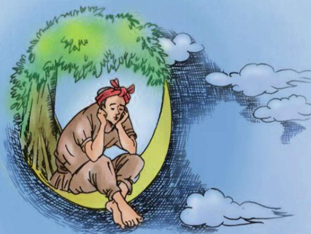 chú cuội ngồi gốc cây đa