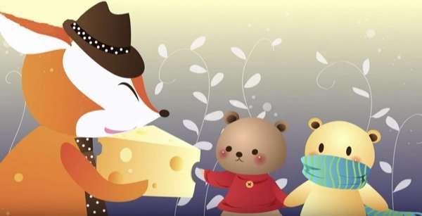 Truyện Hai chú gấu tham ăn - Truyện ngụ ngôn ý nghĩa sâu sắc