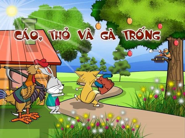 Truyện Cáo Thỏ và Gà Trống  - Truyện cổ tích hay cho bé từ 1-5 tuổi