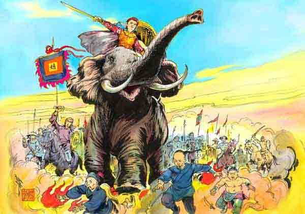 Truyền thuyết Bà Triệu - Truyện cổ tích đặc sắc chọn lọc việt nam